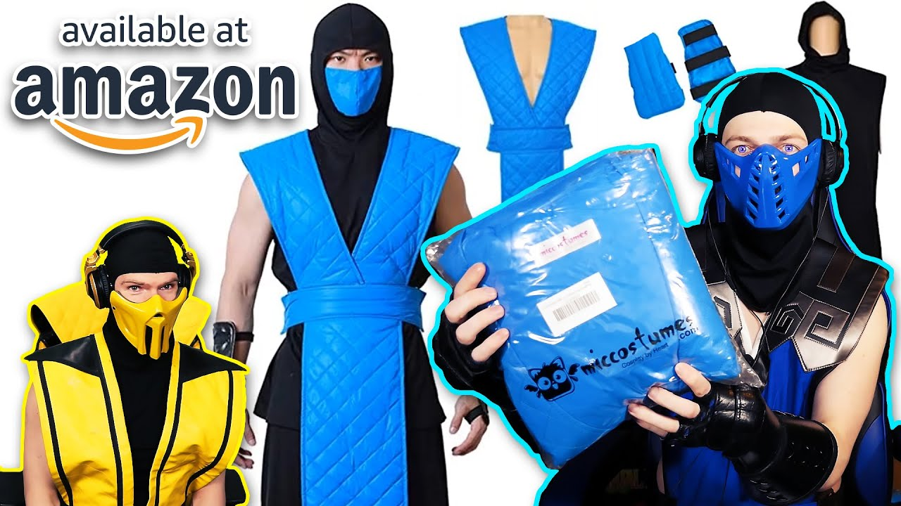 Scorpion Compares 2 Ebay Mortal Kombat 11 Scorpion Costumes