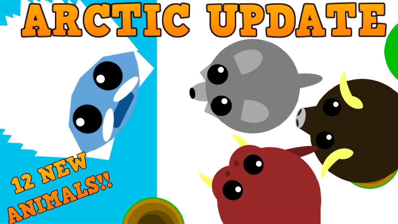 how to become an arctic animal mope.io