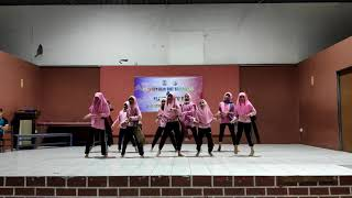 Persembahan Puteri Islam - Malam Kebudayaan Perkhemahan Unit Beruniform SKID