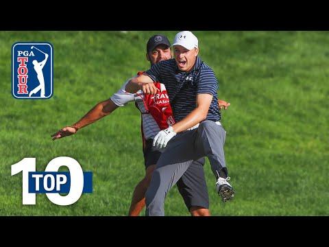 Top 10 Jordan Spieth shots on the PGA TOUR