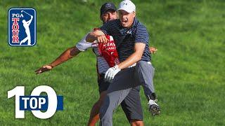 Top 10 <b>Jordan Spieth</b> shots on the PGA TOUR