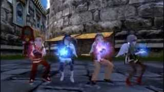 Cowboy Dance Gesture Dragon Nest Indonesia