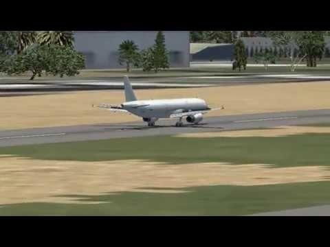 FSX - Education Version - Landing Aden Airport, Yemen - OYAA
