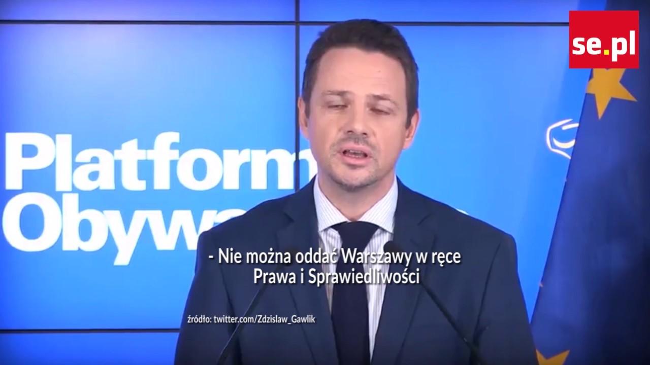 Trzaskowski nowym prezydentem Warszawy? Poznajcie kandydatów!