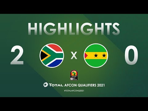 South Africa Sao Tome and Principe Goals And Highlights