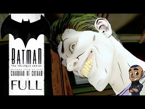 BATMAN: THE TELLTALE SERIES | Episode 4 Gameplay Walkthrough | Guardian of Gotham FULL GAME & ENDING