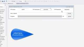 How to Upload a file via FTP with Progress Bar in Visual Basic