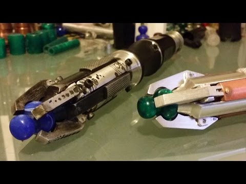 My Personal Custom Sonic Screwdriver Builds