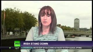 Dep Clare Daly kicks Enda Kenny and Obamas ass(1/2)