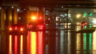 Notorious 'Crosstown Canal' area floods during heavy rains