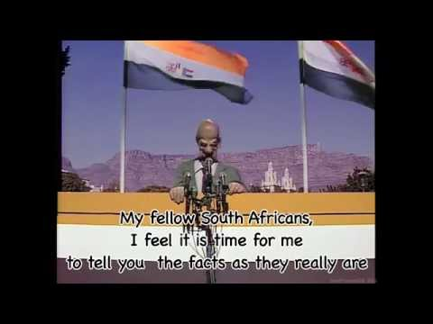 Spitting Image  Ive Never Met A Nice South African With Lyrics HD