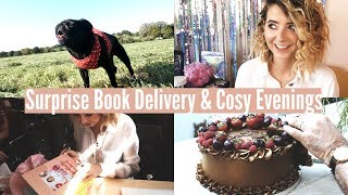 SURPRISE BOOK DELIVERY & COSY EVENINGS | WEEKLY VLOG