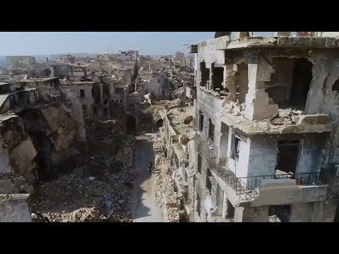 Life is slowly returning to Homs and Aleppo