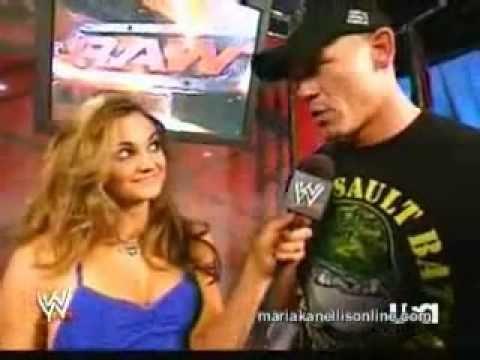 John Cena funny moment with Maria