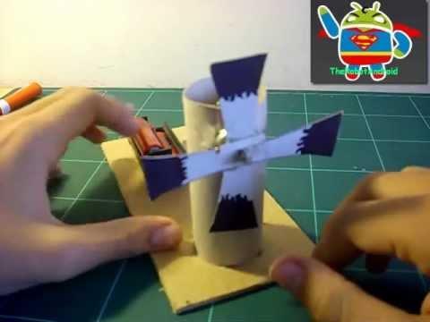 Como hacer un molino ventilador el ctrico r pido y for Como hacer un proyecto de comedor infantil