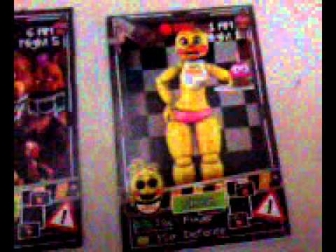 Tarjetas de ?five Night at Freddy s?1 :)