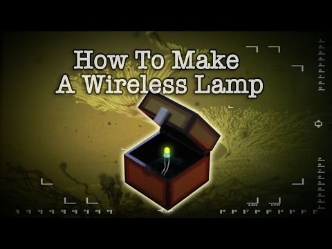 How To Make A Wireless Lamp