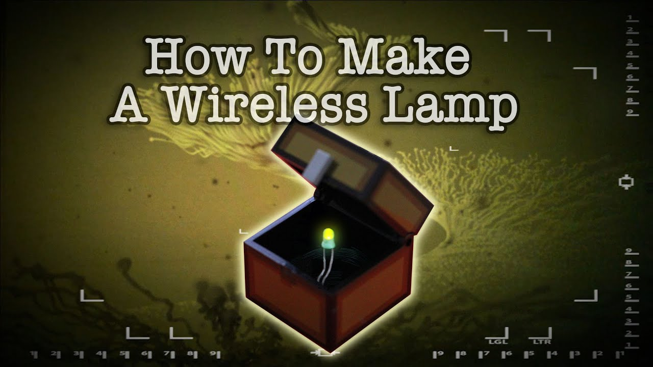 How To Make A Wireless Lamp - YouTube