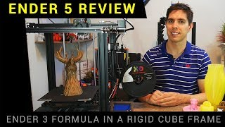 Creality Ender 5 review - The best Ender 3d printer?