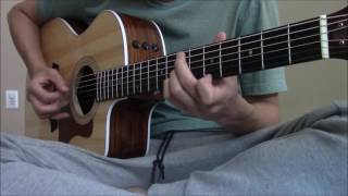 Gambar cover Sungha Jung waiting tutorial (intro and verse 1)