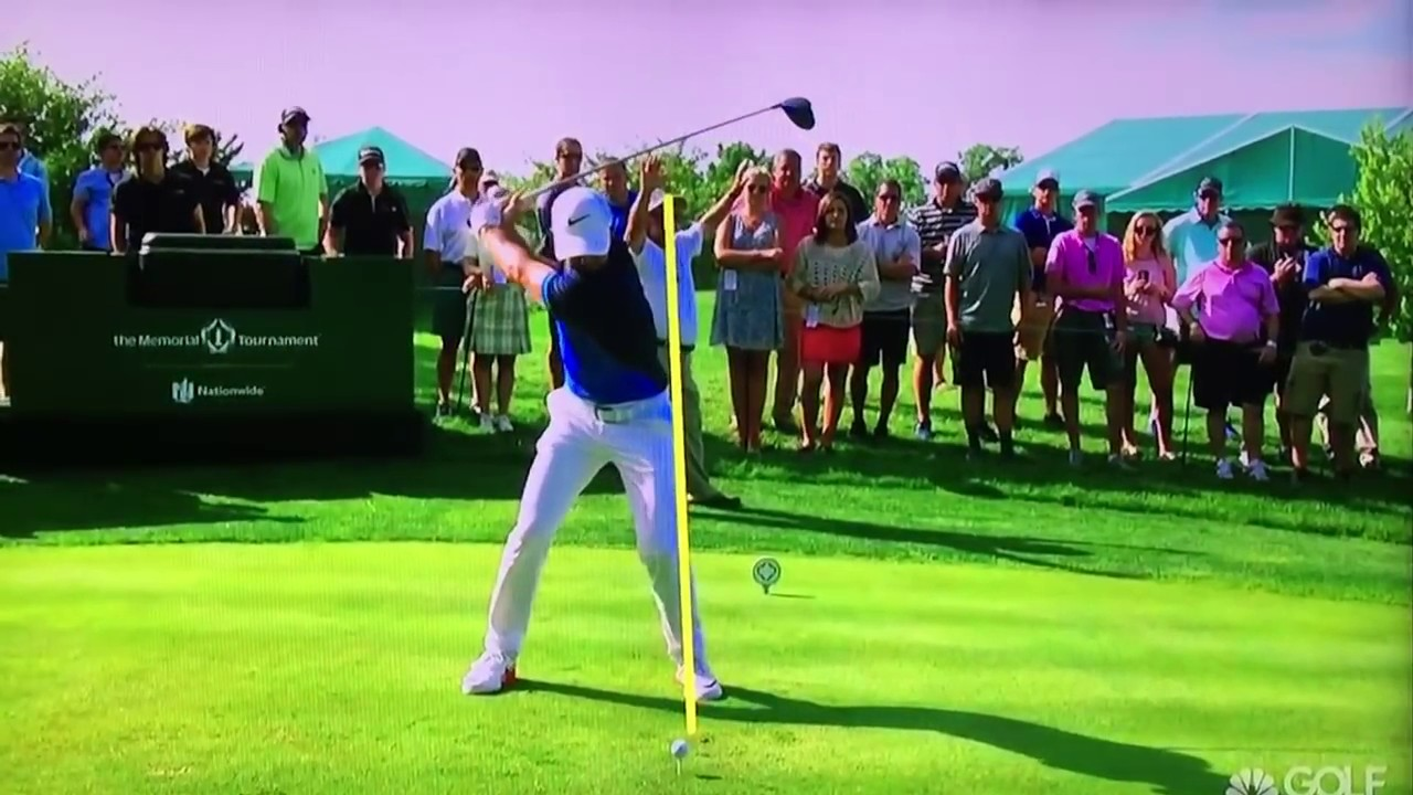 Rory Mcilroy Driver Swing Slow Motion May 2017