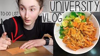 UNIVERSITY VLOG DAY IN THE LIFE   WHAT DO I WRITE ON MY TO-DO LISTS?