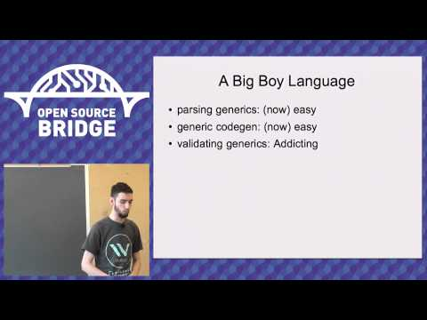 OSB 2015 - Why Making a Programming Language is Awesome - Michael R Fairhurst
