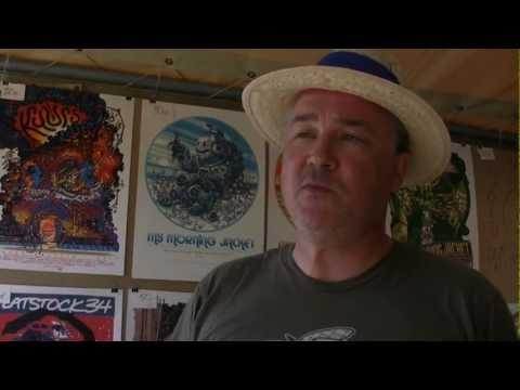 Interview with Guy Burwell for a Radio Študent (89,3FM), Ljubljana - Slovenia