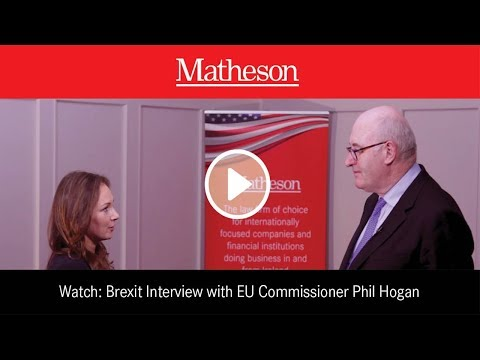 EU Commissioner Phil Hogan on the UK staying in the Customs Union