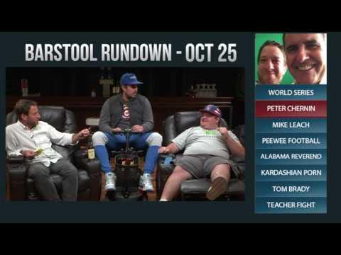 Barstool Rundown  October 25, 2016