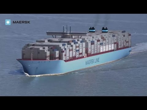 Maersk Line - Triple-E: The largest, most efficient ship in the world