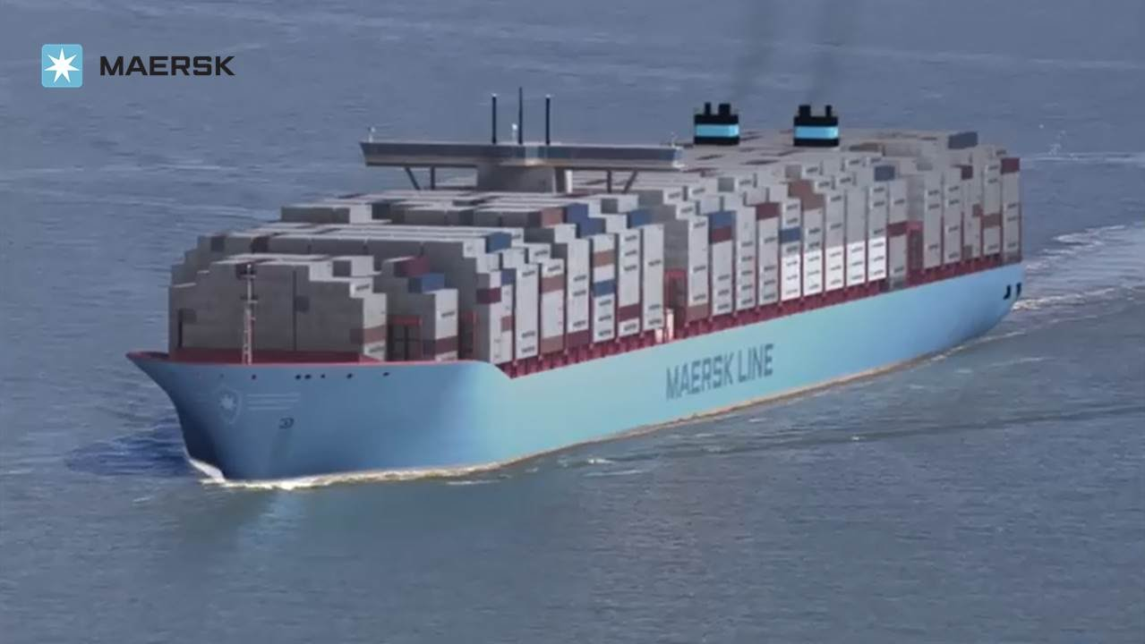 Maersk Line - Triple-E: The largest, most efficient ship in the ...