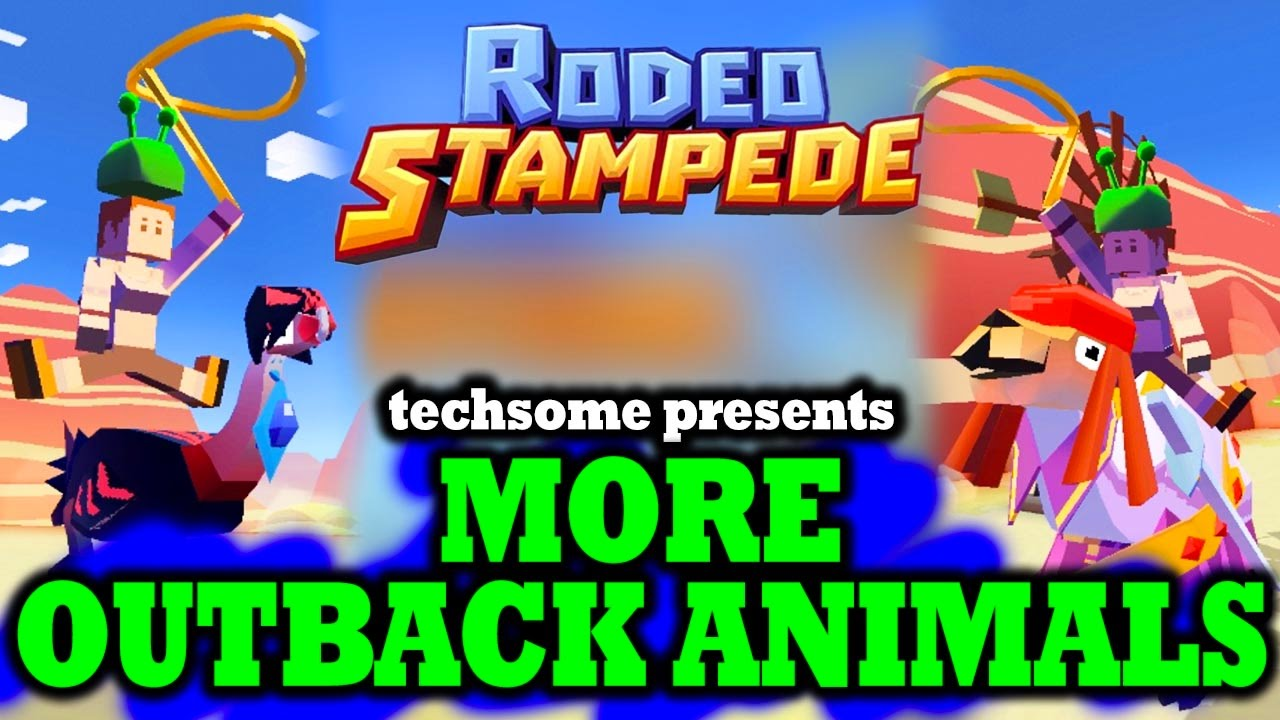 Rodeo Stampede Taming More Camel Emu Sheep Kangaroo