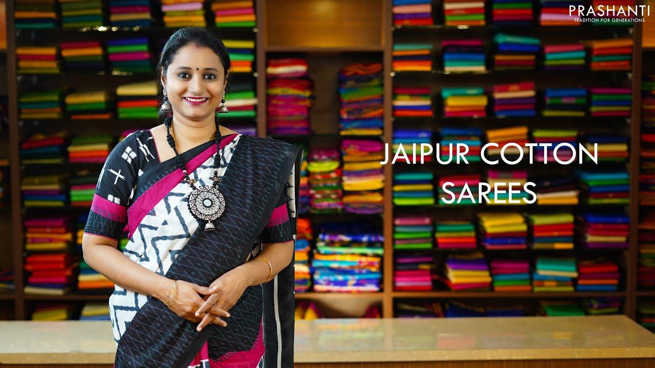 Jaipur Cotton Sarees | 23 Nov 2020 | Prashanti