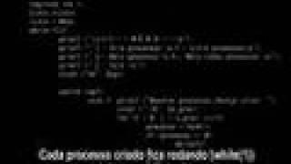 Controlando Processos com fork() e Kill() no GNU/HURD