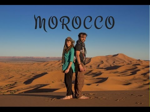 Morocco travel itinerary from Marrakech to Merzouga desert