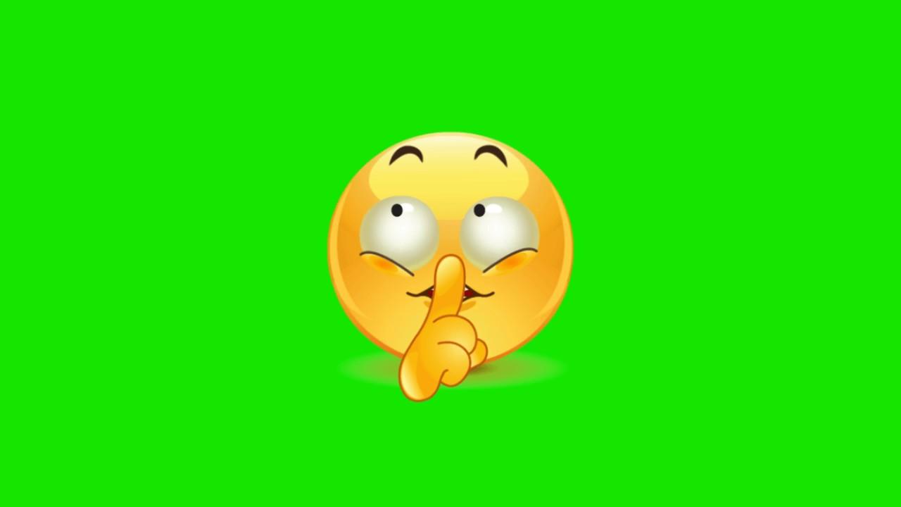 Animated Emojis Green Screen