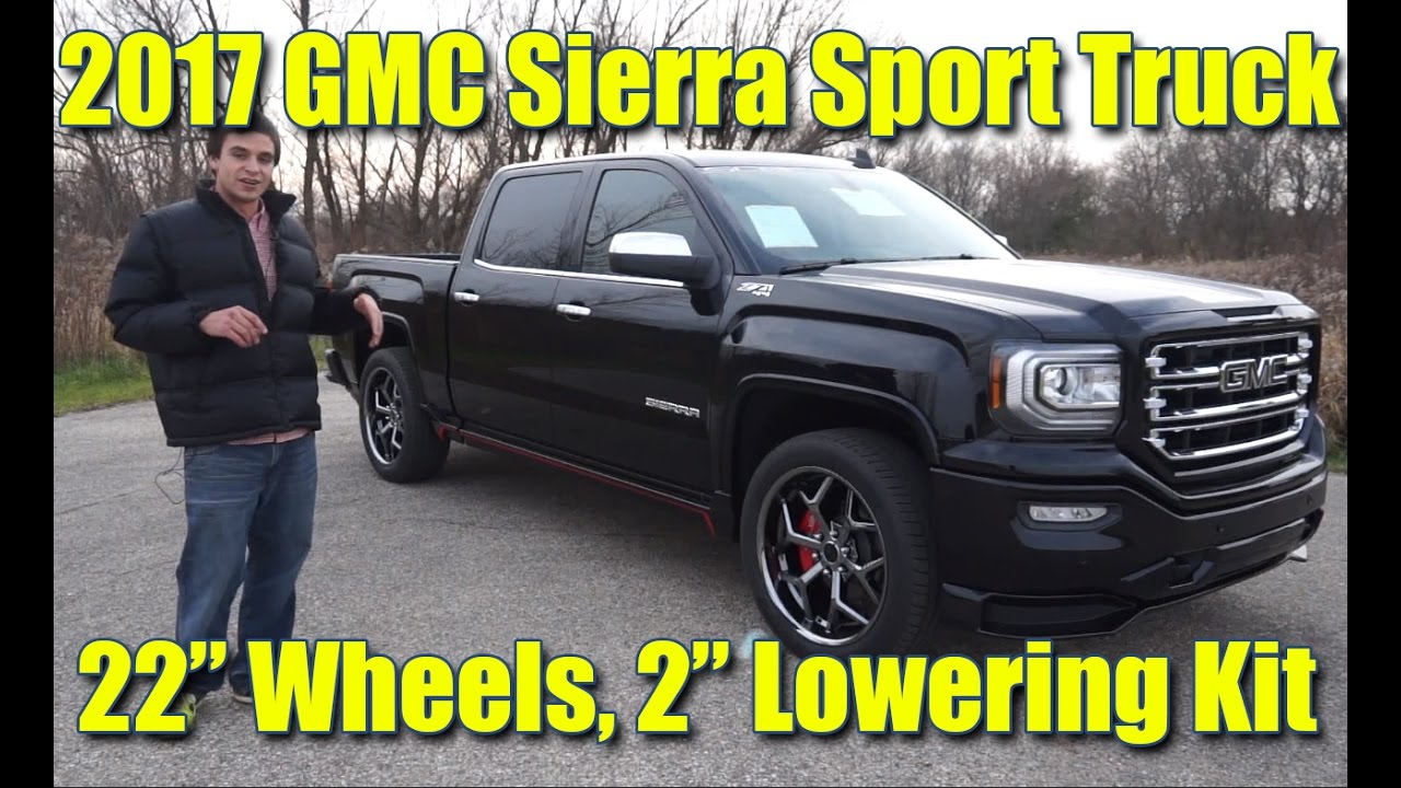 "Our first SCA SPORT TRUCK! 2"" LOWERING Kit! 22"" Wheels ..."