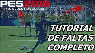 PES 2019 TUTORIAL DE FALTAS COMPLETO
