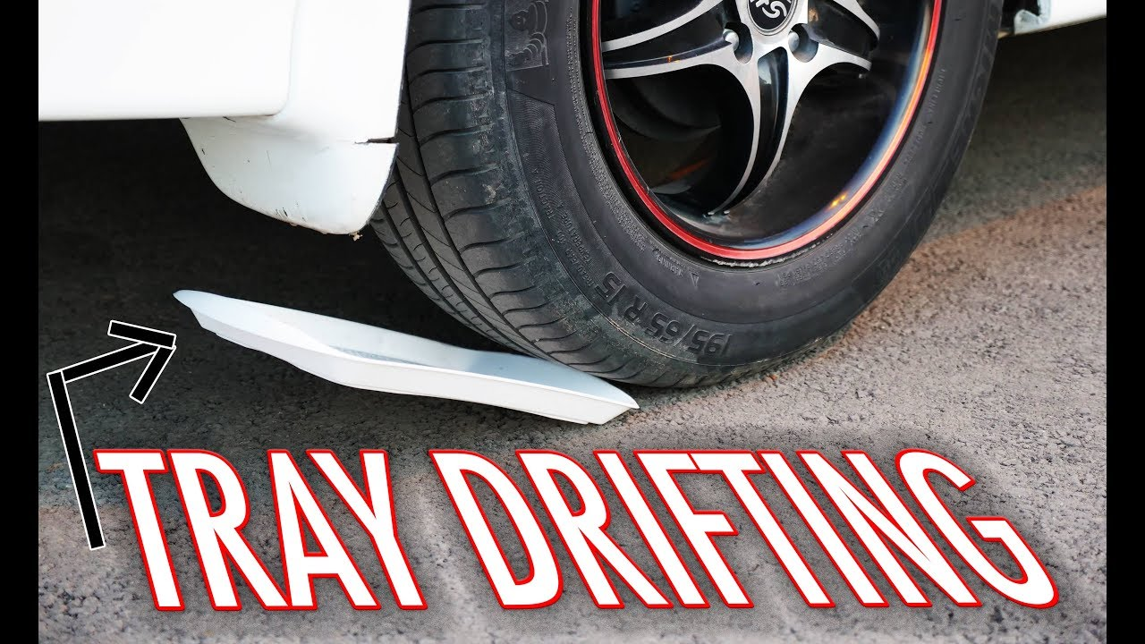 How To Drift In An Automatic Fwd Car Tray Drifting