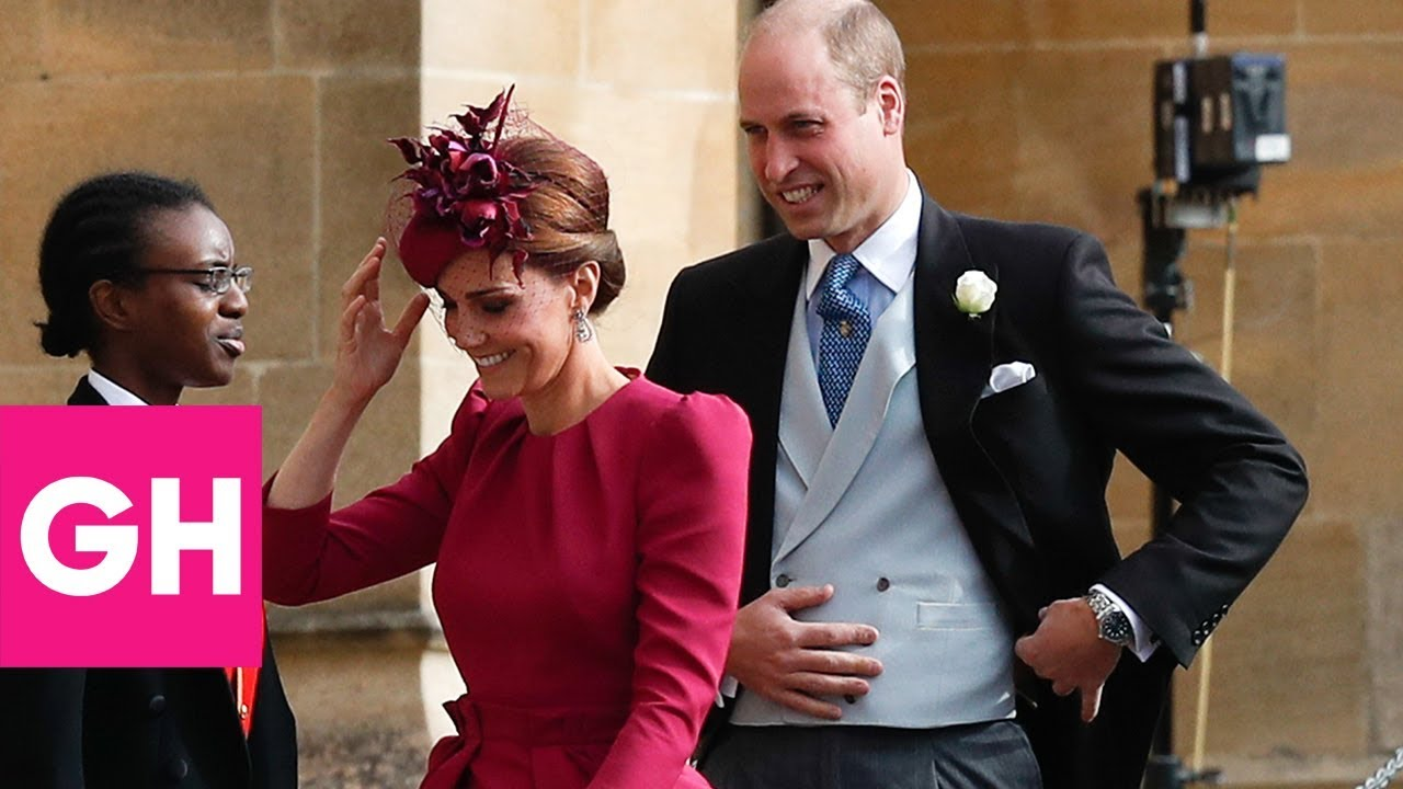 Then and Now: All the Royal Family\'s Wedding Outfits | GH - YouTube