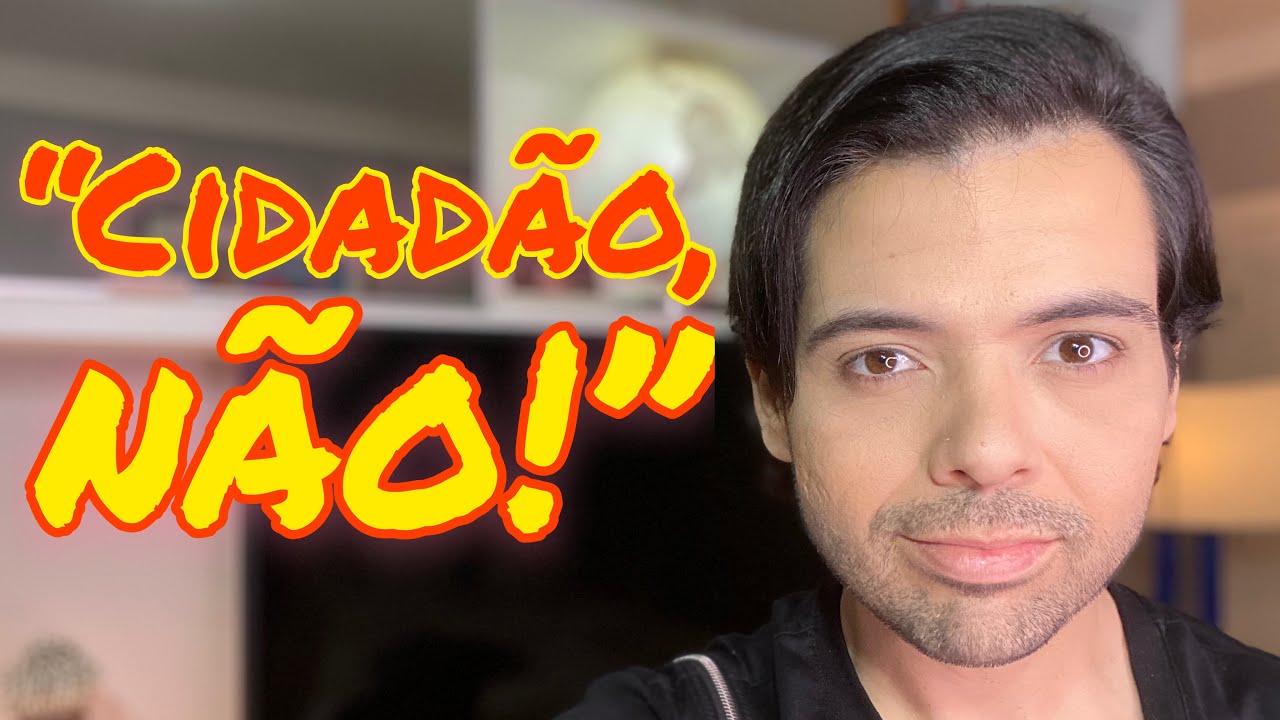 """""""CIDADÃO, NÃO!"""" TEM UMA COISA MUITO ESTRANHA ACONTECENDO NO BRASIL! - GUSTAVO MENDES."""