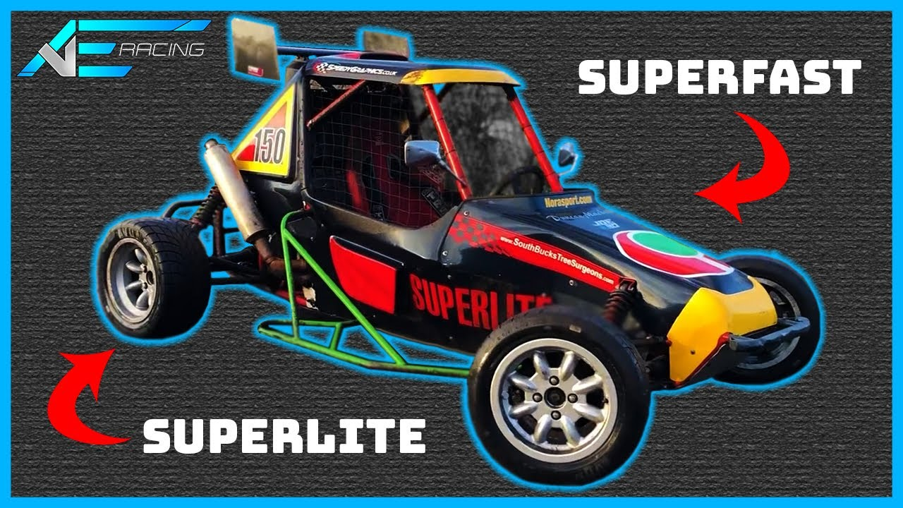 Faster Off The Line Than A Bugatti Veyron! The British Superlite Racecar | From Top To Tyres EP1