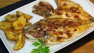 receta dorada a la espalda con patatas al horno fcil y deliciosa recetas de cocina paso a paso