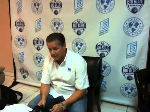 University of Kentucky vs Dominican Republic National Team Post Game Interview