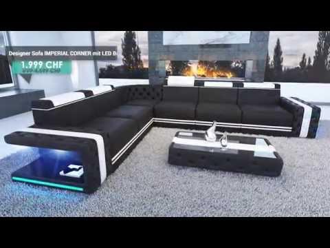 Nativo Möbel Schweiz - Designer Sofa IMPERIAL (alle Modelle)