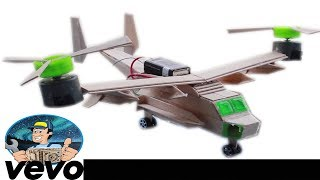 How to build airplane - HomeMade Electric Airplane - using popsicles sticks aircraft