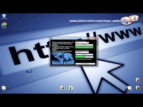 Increase Internet Speed with Internet Speed Booster Max (with Proof) 2013