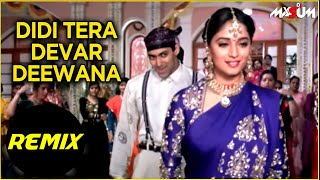 Didi Tera Devar Deewana | Hum Aapke Hain Koun | Remix | Salman Khan, Madhuri Dixit | Best Hindi Song