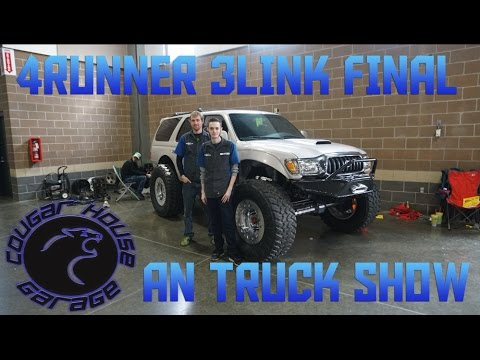 Rd Gen Runner Gets WU Link Final An Truck Show Ep YouTube - 4runner truck